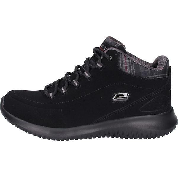 SKECHERS, Sneaker Sneakers Low, beliebte schwarz  Gute Qualität beliebte Low, Schuhe 255636