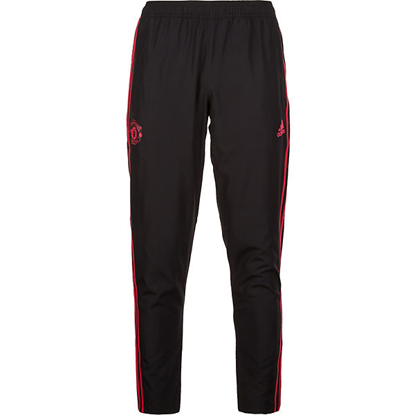 Trainingshose Performance United Adidas rot Schwarz Downtime Manchester 8XkNnwO0P