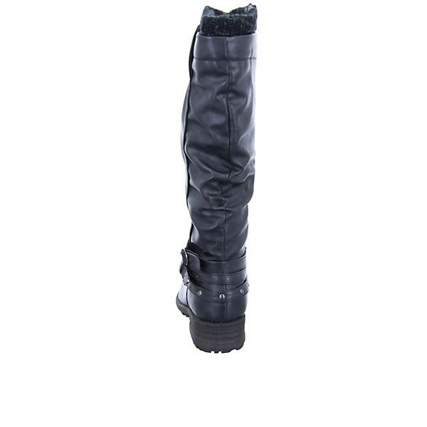 Alyssa, Damen schwarz Stiefel WM2013B152-BK Klassische Stiefel, schwarz Damen   9f3392