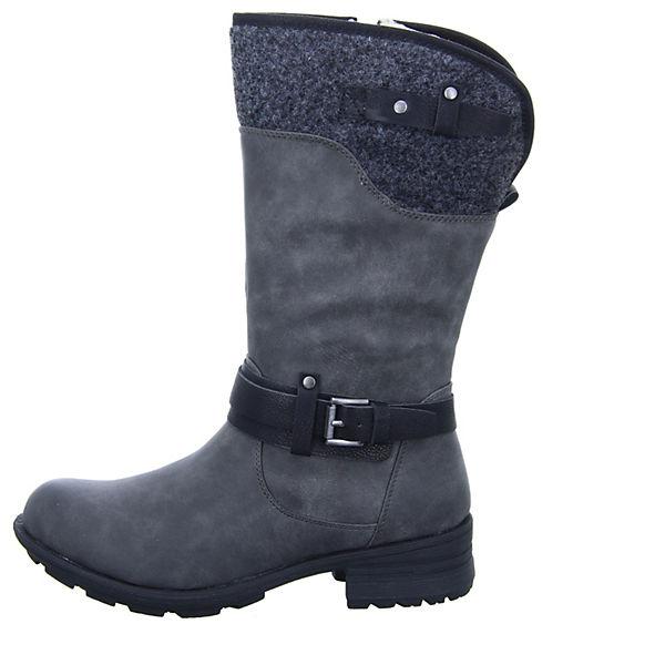 Alyssa, Damen Stiefel WM2013161 Klassische Stiefel, grau