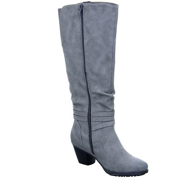Alyssa, Damen grau Stiefel 1288-76 Klassische Stiefel, grau Damen   ff2cdf