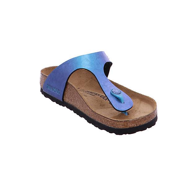 BIRKENSTOCK, Damen Zehentrenner in - Gizeh - Birkoflor in Zehentrenner blau - 1012400 Zehentrenner, blau  Gute Qualität beliebte Schuhe d09de6