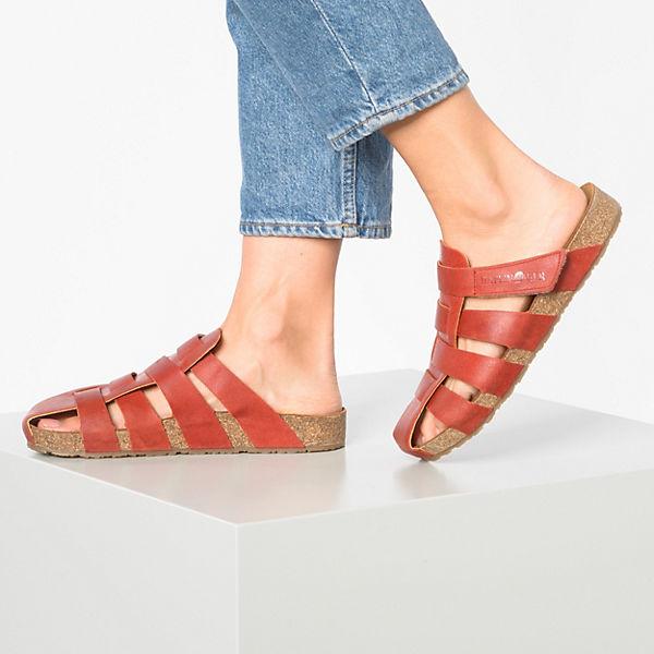 HAFLINGER, Paris Clogs, rot  Gute Qualität beliebte Schuhe