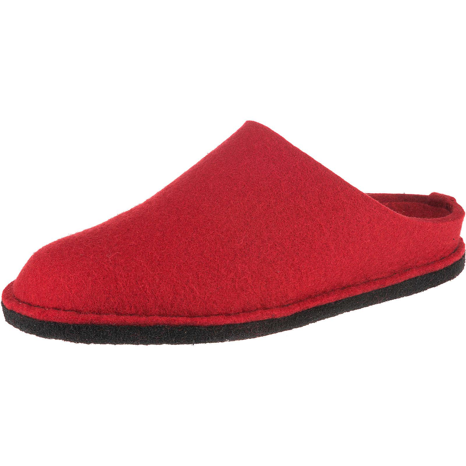 HAFLINGER Soft Pantoffeln rot Damen Gr. 37