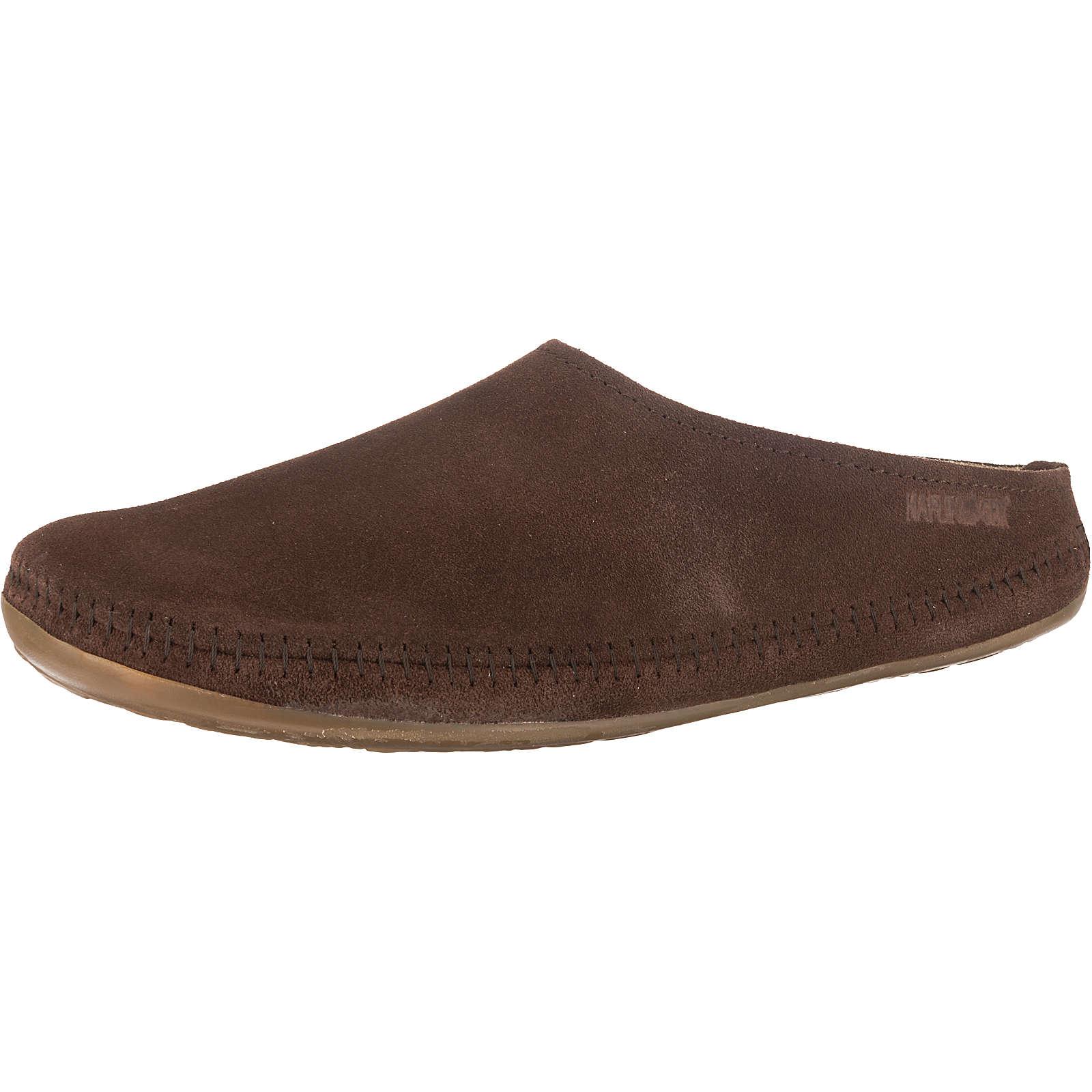 HAFLINGER Softino Pantoffeln dunkelbraun Damen Gr. 40