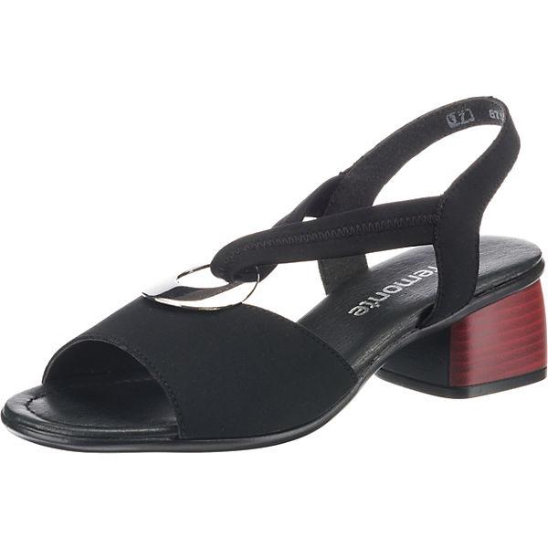 Erstaunlicher Preis remonte Klassische Sandaletten schwarz
