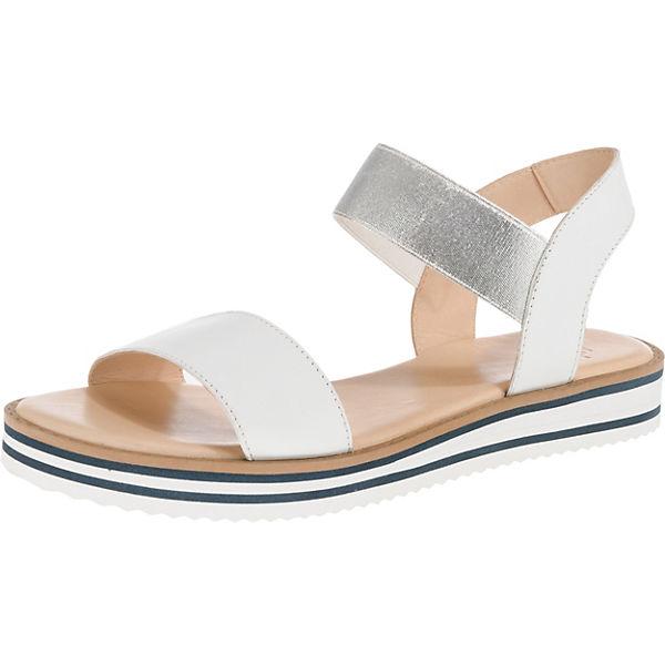 sale retailer 23a0e 4c9f6 ara, Durban weit Klassische Sandalen, weiß