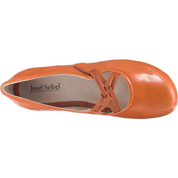 Fiona Josef Riemchenballerinas 39 Seibel Orange gyIYbf76vm