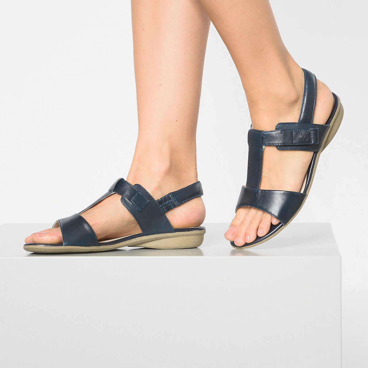 Josef Seibel, Fabia 16 T-steg-sandalen, Dunkelblau