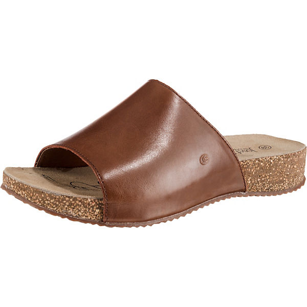 online retailer 2e544 980be Josef Seibel, Tonga 51 Komfort-Pantoletten, hellbraun