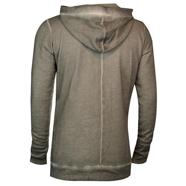 Trueprodigy® Sweatshirts Diagonally Langarmshirt Mit Kapuze Dunkelgrau Trueprodigy vNwOmn08