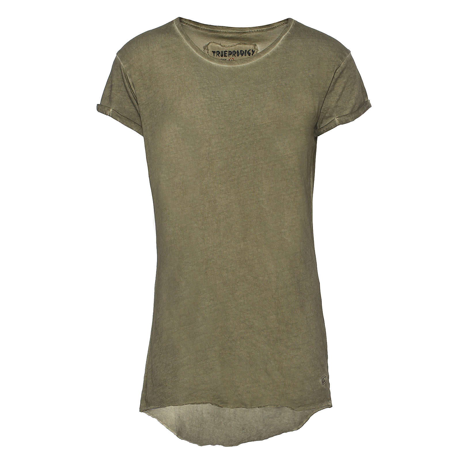 trueprodigy® T-Shirt Basic Summer 1 mit schmalem Schnitt khaki Herren Gr. 54