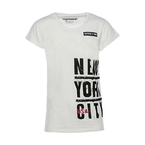T-Shirt New York City mit beidseitigem Print