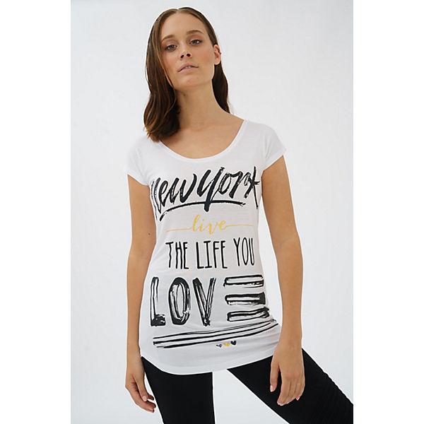 shirt York shirts T Trueprodigy Frontprint Weiß New Coolem Trueprodigy® T Mit Live CtosQBhrdx