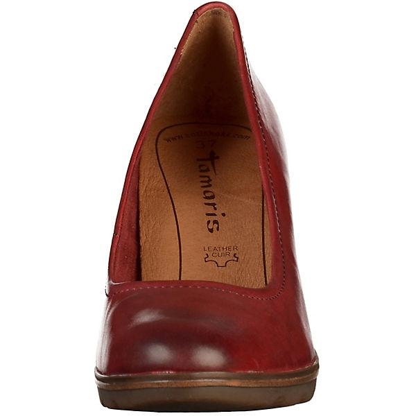 Tamaris, Tamaris, Tamaris, Pumps Klassische Pumps, rot  Gute Qualität beliebte Schuhe 7cfbd8