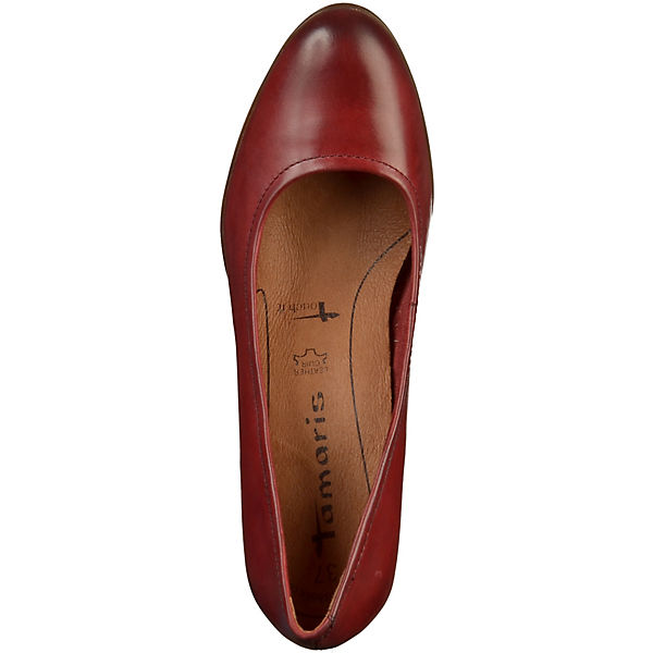 Tamaris, Pumps Klassische Qualität Pumps, rot  Gute Qualität Klassische beliebte Schuhe a4e0c7