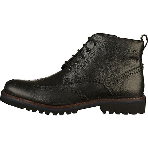 Sioux, Stiefelette Schnürstiefeletten, schwarz  Gute Qualität beliebte Schuhe