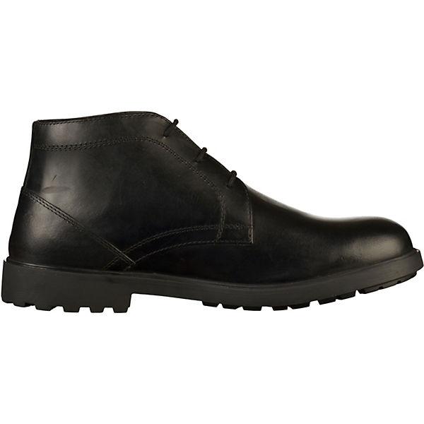 GEOX, Stiefelette Klassische Qualität Stiefeletten, schwarz  Gute Qualität Klassische beliebte Schuhe cabf28