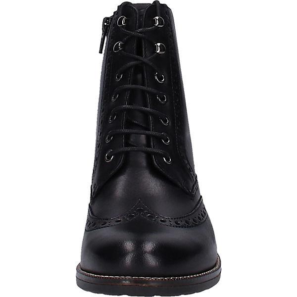 Tamaris, Stiefelette Schnürstiefeletten, Qualität schwarz  Gute Qualität Schnürstiefeletten, beliebte Schuhe 097362