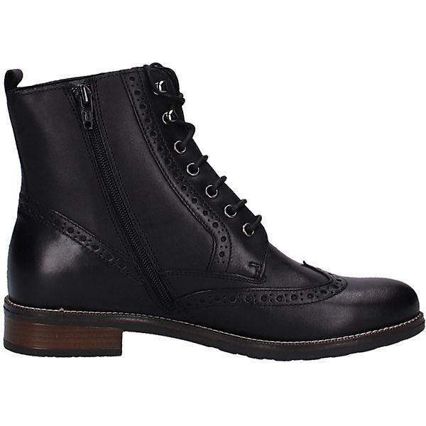 Tamaris, Stiefelette Schnürstiefeletten, Qualität schwarz  Gute Qualität Schnürstiefeletten, beliebte Schuhe ae7e17
