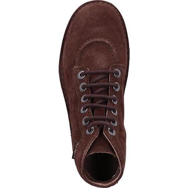 KicKers, Gute Stiefelette Schnürstiefeletten, braun  Gute KicKers, Qualität beliebte Schuhe e04692