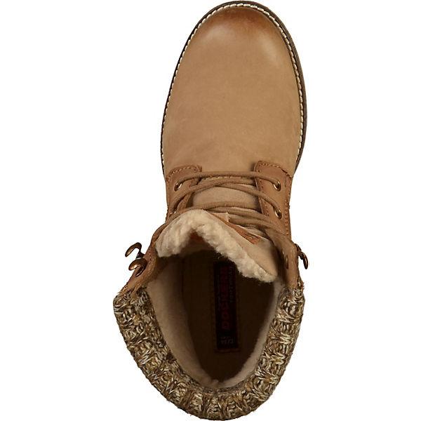 Dockers by Gerli, Stiefelette Schnürstiefeletten, beliebte grau  Gute Qualität beliebte Schnürstiefeletten, Schuhe bcc1c7