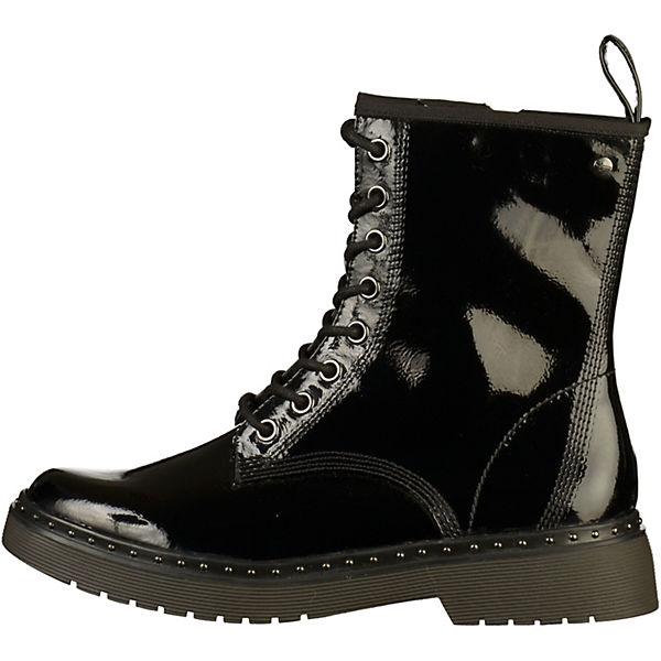 Tamaris, Stiefelette Schnürstiefeletten, schwarz  Schuhe Gute Qualität beliebte Schuhe  3b7fbb