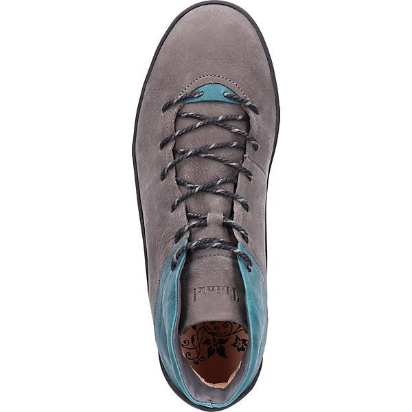 Think!, Stiefelette Schnürstiefeletten, anthrazit  Schuhe Gute Qualität beliebte Schuhe  7cb2cc