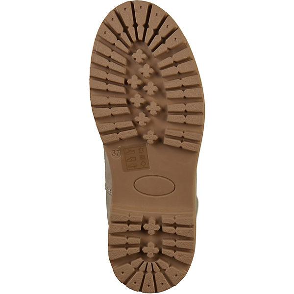 TOM  TAILOR, Stiefelette Schnürstiefeletten, hellgrau  TOM Gute Qualität beliebte Schuhe 7edffc