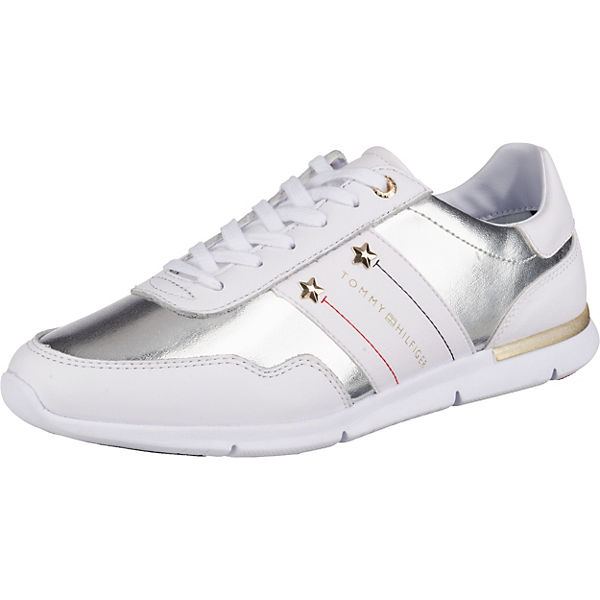best service 9a505 74639 TOMMY HILFIGER, Sneakers Low, weiß