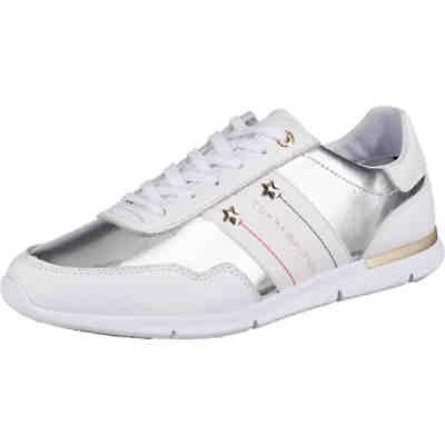 best service b066c 25bd8 TOMMY HILFIGER, Sneakers Low, weiß