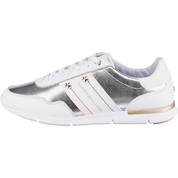 Low Hilfiger Sneakers Tommy Sneakers Tommy Hilfiger Tommy Weiß Hilfiger Low Sneakers Weiß qSMVpUz