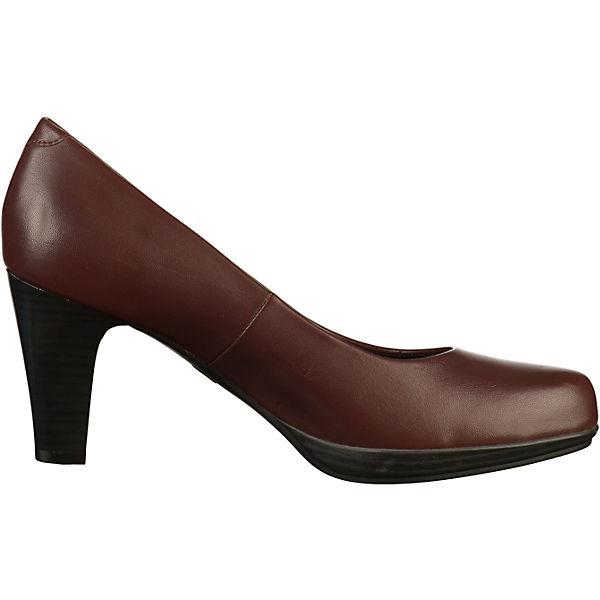 MARCO TOZZI, Pumps Qualität Klassische Pumps, dunkelrot  Gute Qualität Pumps beliebte Schuhe 348d61