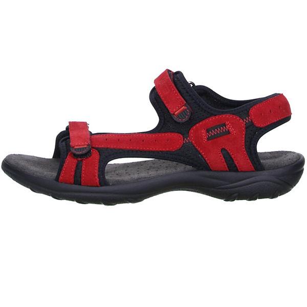 Vista, Damen Trekking Wander Outdoorschuhe Sandalen Qualität rot/schwarz, rot  Gute Qualität Sandalen beliebte Schuhe a0a854