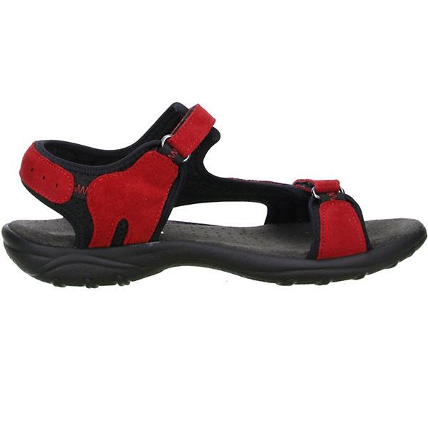 Vista, Sandalen Damen Trekking Wander Outdoorschuhe Sandalen Vista, rot/schwarz, rot  Gute Qualität beliebte Schuhe 57ee8c