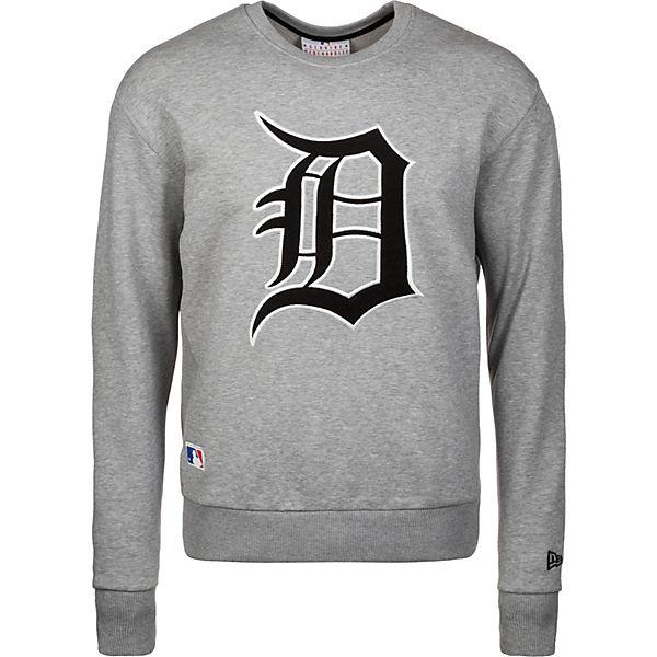 Tigers Mlb Detroit Sweatshirt New Era Crew Grau XwZiOPkuT