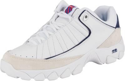 K SWISS, Sneakers Low, weiß