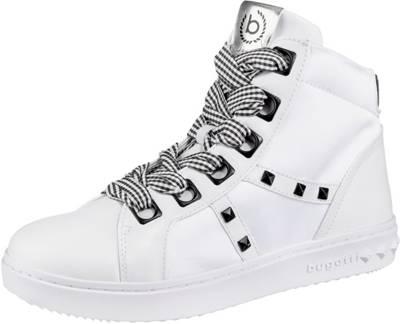 bugatti, Sneakers High, weiß   mirapodo
