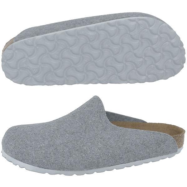 BIRKENSTOCK, Clogs Amsterdam Woll-Filz normal Qualität Clogs, grau  Gute Qualität normal beliebte Schuhe 781aaf