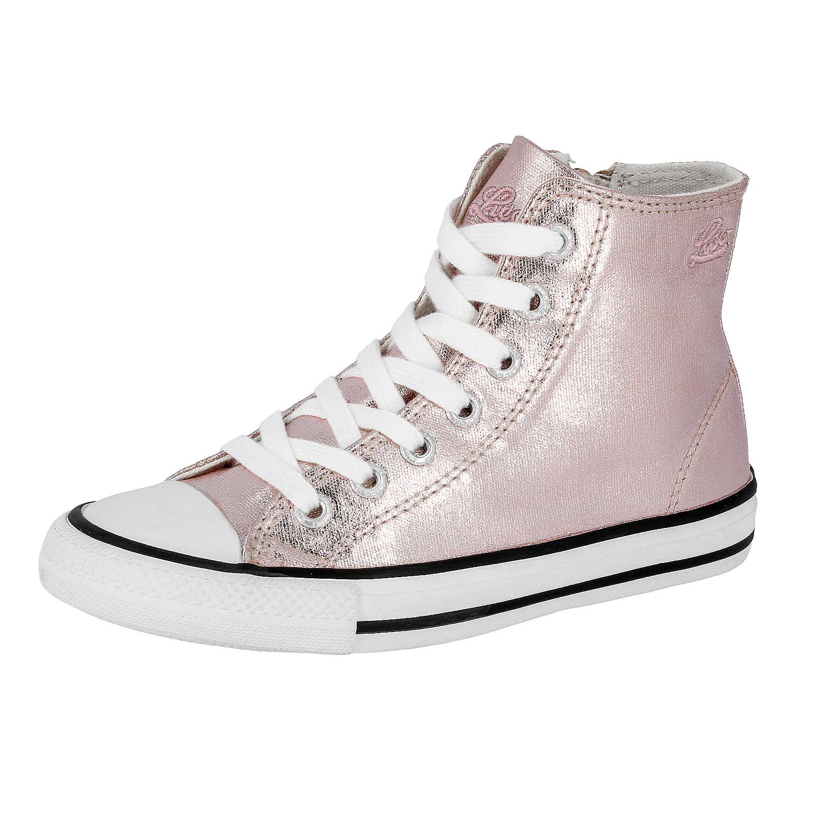 LICO Freizeitstiefel Gloss für Mädchen rosa Mädchen Gr. 33
