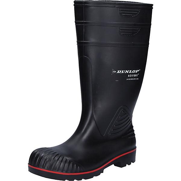 Dunlop Sicherheitsstiefel Arbeitsgummistiefel Sicherheitsstiefel Arbeitsgummistiefel Schwarz Dunlop Dunlop Acifort Schwarz Acifort kiwuOPZXT