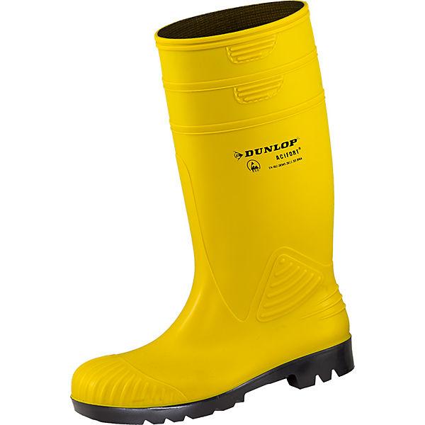 Gelb Arbeitsgummistiefel Esd Acifort Dunlop Sicherheitsstiefel 2WD9IEYeHb