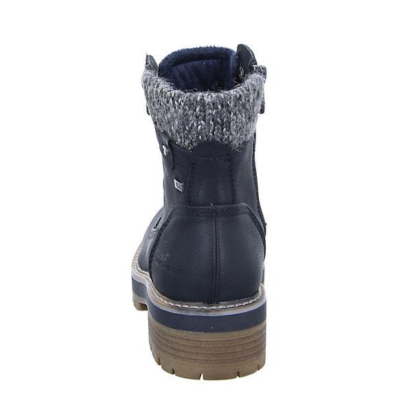 TOM TAILOR, schwarz Damen Stiefelette 5890001 Schnürstiefeletten, schwarz TAILOR,  Gute Qualität beliebte Schuhe 097732