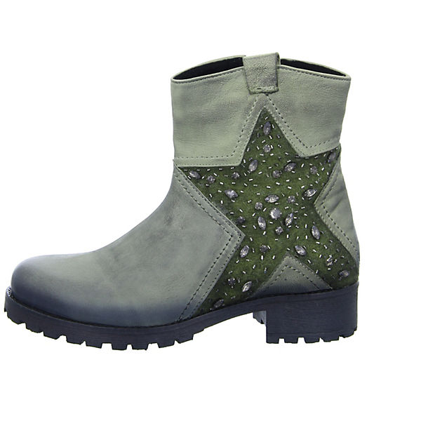 BOXX, Damen Stiefelette Qualität K-8624 Klassische Stiefeletten, grün  Gute Qualität Stiefelette beliebte Schuhe 8e11b1