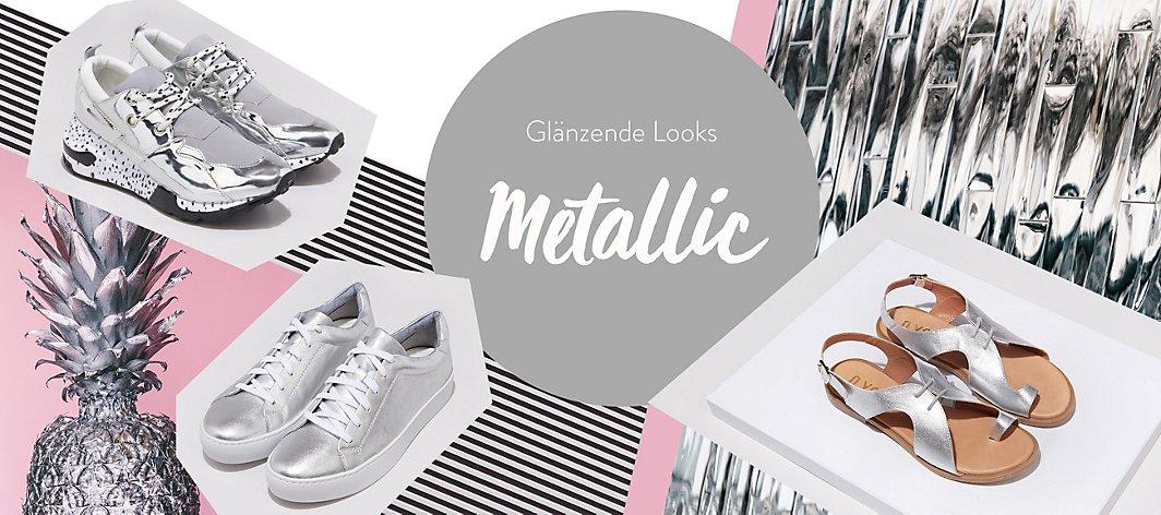 ee2ef457f2c8fd Metallic Schuhe günstig online kaufen