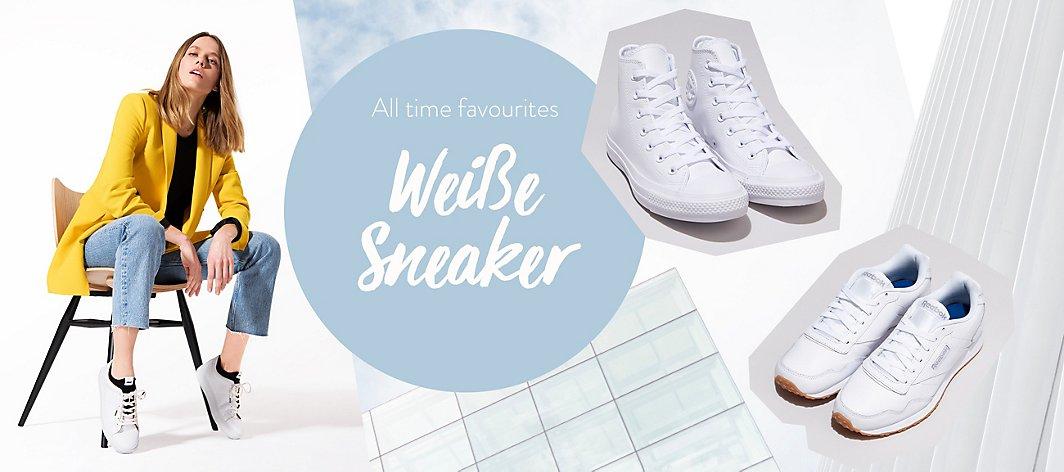 pretty nice 30033 e292a Trend Weiße Sneaker