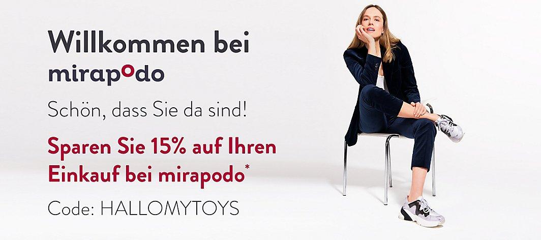 Willkommen bei mirapodo | mirapodo