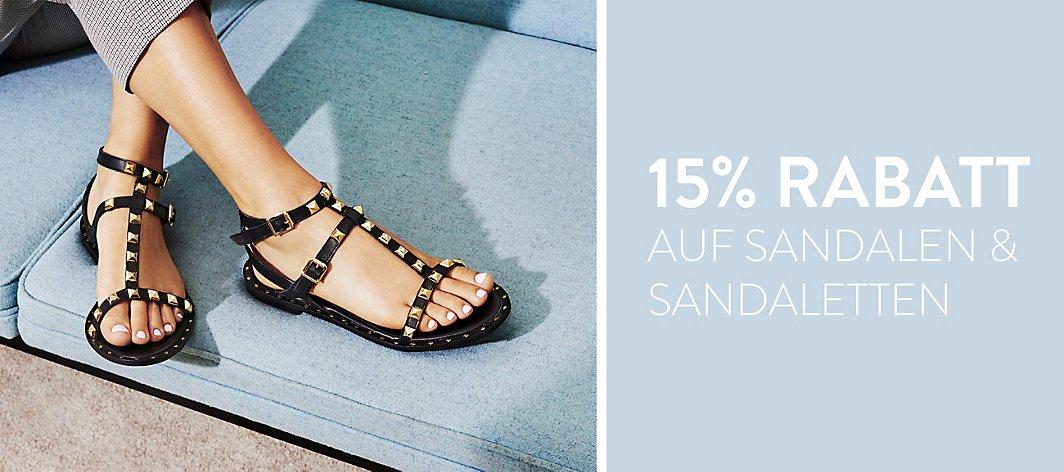 a8bff2cffa621 15% Rabatt auf Sandalen und Sandaletten · Damen